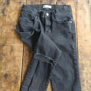 Madewell rip and repair skinny jeans
